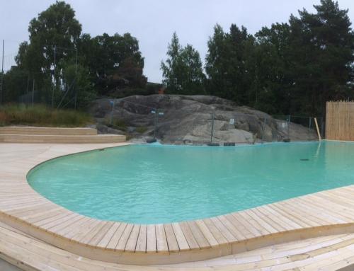 Barnbadet i Tornparken, Sundbyberg driftsatt